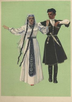 Georgian costume