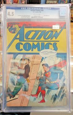 ACTION COMICS #98 - CGC 4.5 - Wayne Boring Golden Age Superman cover! 1946!  https://www.ebay.com/itm/ACTION-COMICS-98-CGC-4-5-Wayne-Boring-Golden-Age-Superman-cover-1946-/302572469691?roken=cUgayN&soutkn=EAjNJP