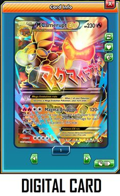 - for Pokemon TCG Online ptcgo in Game Card FOIL Double Dragon Energy