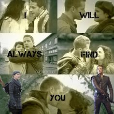 Once Upon A Time - Snow White & Prince Charming - Snowing