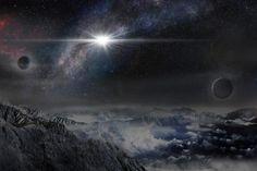 Rappresentazione artistica della supernova super luminosa ASASSN–15lh così come apparirebbe vista da un esopianeta collocato a circa 10.000 anni luce nella galassia della supernova.(Credit: Beijing Planetarium / Jin Ma)