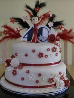Betty Boop Cake by alison.marley, via Flickr