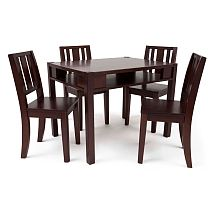 An ideal addition to your childs learning and recreation area, the Delta Solutions  Table and Chair Set combines sturdy construction and kid-friendly design. Its rounded corners and smooth edges are safe to the touch, and easy to clean for use in arts & crafts.