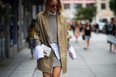 Wide sleeves