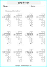 Long Division This Will Help Student Learn And Memorize The Steps