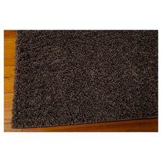 Nourison Solid Bonita Shag Accent Rug - Gray (3'X5')