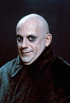 Uncle Fester from movie (Makeup Ideas)