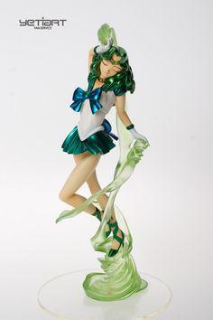 Sailor Neptune Sailor Moon Hand Painted Garage Kit Yetiart Figure Resin Model