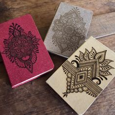 Bunch of rustic notebooks Henna Flower Designs, Henna Designs Easy, Best Mehndi Designs, Mehndi Designs For Hands, Bridal Mehndi Designs, Henna Mandala, Henna Art, Henna Mehndi, Mehendi
