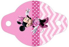 Pretty Minnie in Pink: Free Party Printables. Mickey E Minnie Mouse, Pink Minnie, Mickey Party, Disney Mickey, Minnie Mouse Birthday Decorations, Minnie Birthday, Pink Parties, Mouse Parties, 2nd Birth