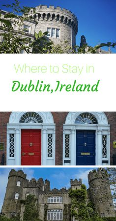 Where to Stay in Dublin. Best areas to stay in Dublin, Ireland written by a local. Dublin travel guide with recommendations from an expat in Dublin! via @WanderTooth