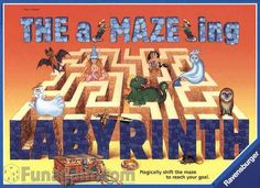 I got The aMAZEing Labyrinth game at a thrift store for a dollar.  Cool game!!! Sometimes simple game play makes a great game.