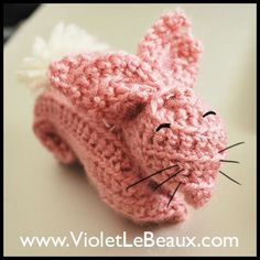 How to Crochet a Bunny - Tutorial (Beginners).