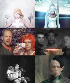 Вопрос 13 Любимый фильм The Fifth Element (1997), кажется я могу смотреть его…                                                                                                                                                                                 Más