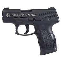 "Taurus Millennium Pro Compact Model 745 Semi Automatic Handgun .45 ACP 3.25"" Barrel 6 Rounds Black Polymer Frame Blued Finish"