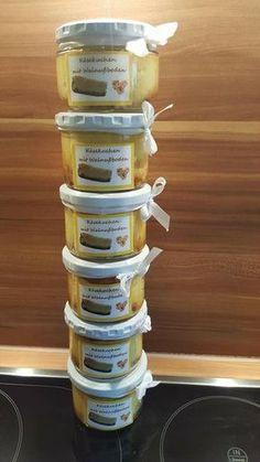 Käsekuchen mit Walnußboden im Glas von Petra Feinschmecker auf www.rezeptwelt.de, der Thermomix ® Community