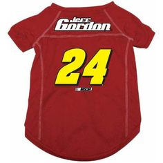Jeff Gordon #24 NASCAR Dog Jersey