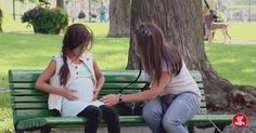 A Woman Sees This Pregnant Little Girl At The Park. When The Baby's Daddy Arrives? OMG!