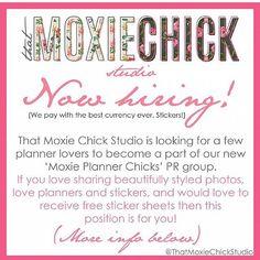#thatmoxiechickstudio I'd love this opportunity!