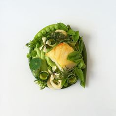 Atlantic Cod & Squid with Green Things -  #myfood #fromscratch #foodart #chefstalk #gastroart #cooking  #theartofplating #chefsofinstagram #foodporn #foodart #expertfoods #foodstyling #sharefood #gastronomy #cookniche #fourmagazine #thestaffcanteen #bonappetit #chefsplateform #tastingtable #hhmkt