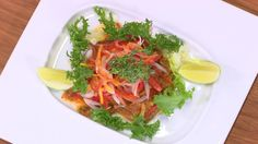 Red Snapper fish salad