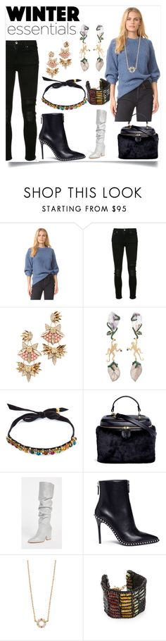 """""""Fashion trends"""" by denisee-denisee ❤ liked on Polyvore featuring TSE, AMIRI, Deepa Gurnani, Wendy Yue, DANNIJO, Vasic, Stuart Weitzman, Alexander Wang, Marc Jacobs and Lulu Frost"""