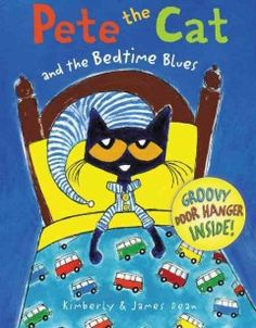 Pete the cat and the bedtime blues Picture Books, Blues, Library Ideas, Children's Library, Music Library, Pete The Cats, Cat Activity, New Children's Books, Early Literacy