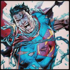 Chained Superman - Jim Lee