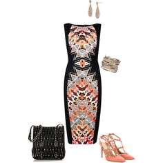 Untitled #36 by allisonpethick on Polyvore featuring polyvore fashion style Valentino maurices Lauren Ralph Lauren