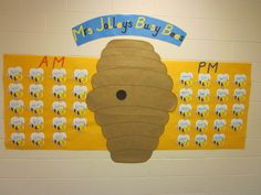 Busy Bee Hive Classroom Display