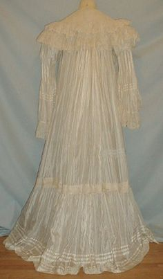 1890s nightgown