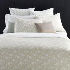 #VeraWang #Freesia Duvet Set. #beddingstyle #ivory #floral #bedroom #bedding