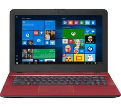 "ASUS VivoBook Max X441 14"" Laptop - Red"