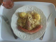 mon repas pour l'été 2014  choucroute  repas de cette été pourri