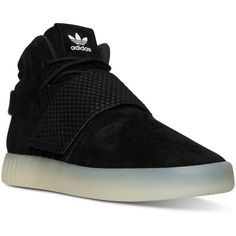 wholesale dealer 808df 46a56 adidas Men s Tubular Invader Casual Sneakers from Finish Line ( 100) ❤  liked on Polyvore