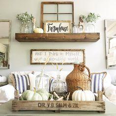 99 DIY Farmhouse Living Room Wall Decor And Design Ideas (53)