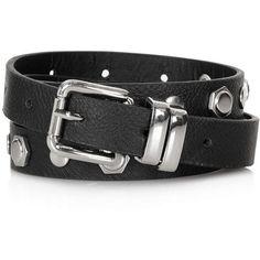 TOPSHOP Skinny Stud Belt ($21) ❤ liked on Polyvore featuring accessories, belts, topshop, black, studded belt, topshop belts and flat belt