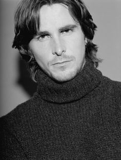 Christian, love him. Batman Begins, Christian Bale, Chris Bale, Beautiful Men, Beautiful People, Amazing People, Hard Men, Portraits From Photos, Handsome Actors