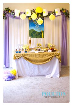 Rapunzel Birthday Party |