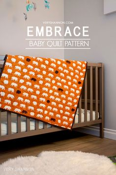Free Embrace Baby Quilt Pattern on luvinthemommyhood. Baby Quilt Tutorials, Beginner Quilt Patterns, Baby Sewing Projects, Quilting For Beginners, Quilt Patterns Free, Quilting Tutorials, Sewing For Kids, Free Sewing, Sewing Tutorials