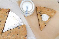 whole grain chocolate chip cookie cake