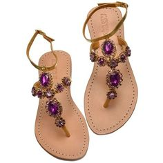 Sparkle Spotlight Jeweled Sandals from Mystique Sandals ❤ liked on Polyvore featuring shoes, sandals, jewel shoes, sparkly shoes, jeweled sandals, jeweled shoes and jewel sandals