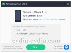Update: TaiG jailbreak team gives revealed iOS 8.2 in addition to iOS 8.2.1 jailbreak tool so as to will jailbreak iPhone 6, iPhone 6 Plus, iPhone 5s, iphone 5,iphone 5c,iphone 4s, immediately abou...