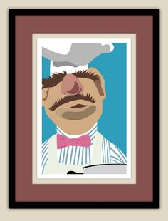 The Muppets - Swedish Chef Art