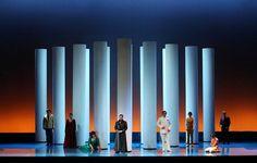 La Gazza Ladra from Filarmonico di Verona. Production by Damiano Michieletto. Sets by Paolo Fantin.