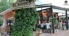 Terraza Restaurante El Kiosko Pozuelo Madrid