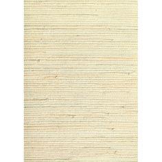 Master Bedroom  allen   roth�Cream Grasscloth Unpasted Textured Wallpaper