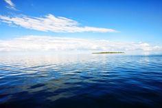 #914 Islands, New Homes, Clouds, Beach, Water, House, Outdoor, Art, Gripe Water