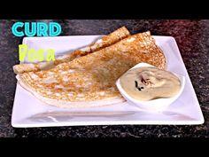 Dahi/ Curd Dosa| Perugu Dosa | Pullatlu - South Indian Breakfast Recipe - YouTube