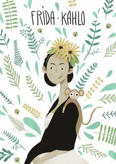 Frida Kahlo on Behance